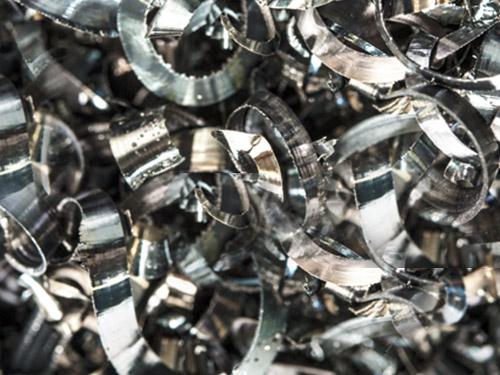 Rottami di tornitura e ferro pesante